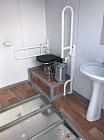 Туалетный модуль-павильон с отделением для инвалидов -  купить в интернет магазине